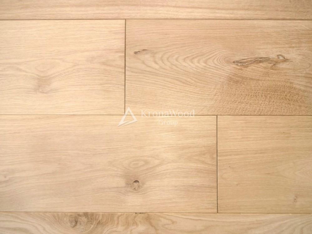 Инженерная доска Дуб Кантри без покрытия 150х15х400-1800 мм