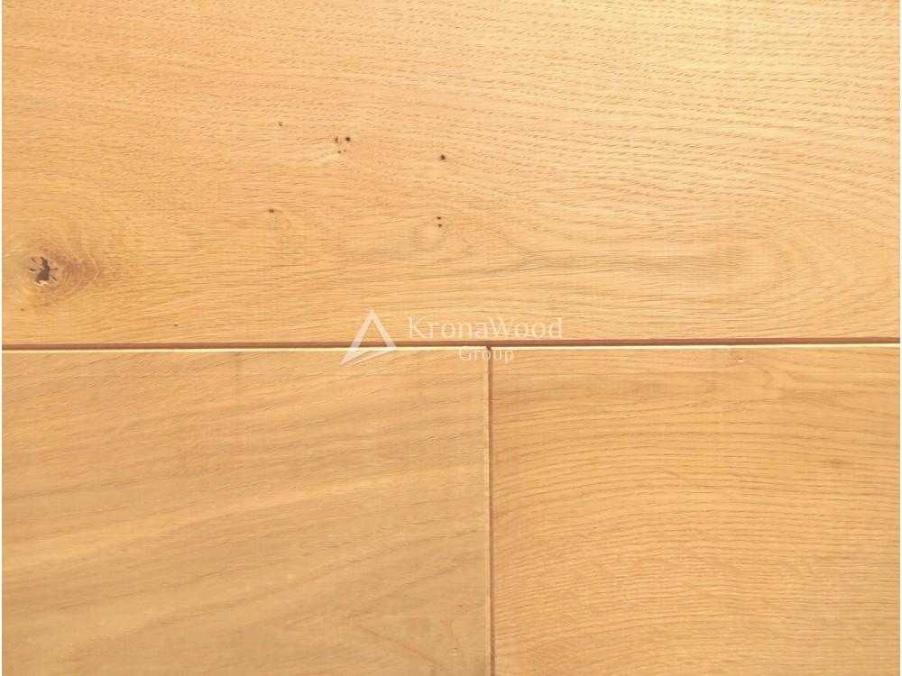 Массивная доска Дуб Рустик без покрытия 150х20х300-1600 мм