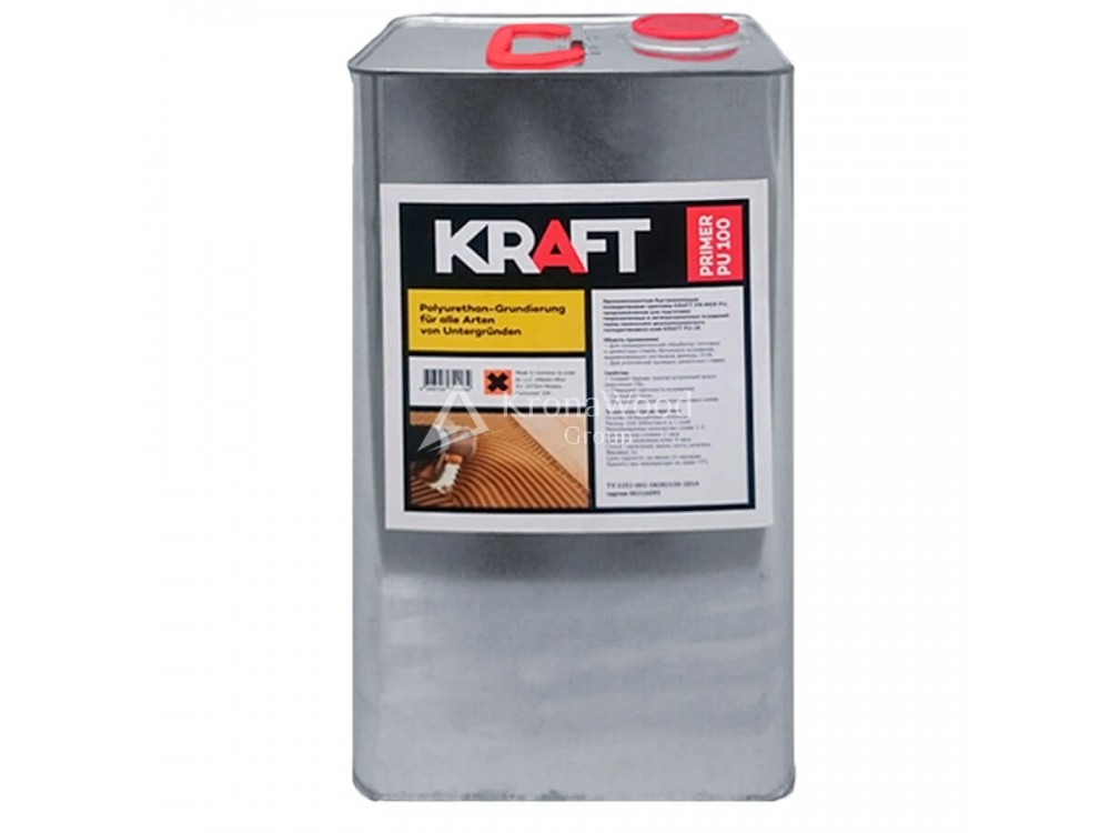 Грунтовка полиуретановая Kraft Primer PU 100 5 л